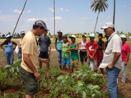 Visita à Fazenda Caju (EMBRAPA-CPATC)